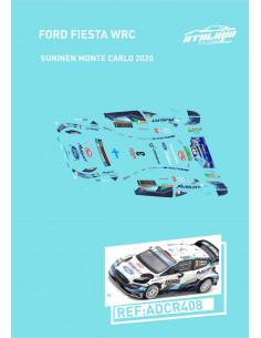 Ford Fiesta WRC Suninen Monte Carlo 2020