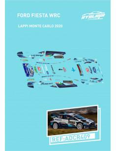 Ford Fiesta WRC LAPPI Monte Carlo 2020