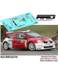 Renault Clio S1600 Kara-Bakancocuklari Rally Catalunya 2006