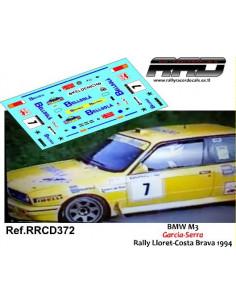 BMW M3 Garcia-Serra Rally Lloret-Costa Brava 1994