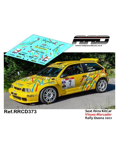 Seat Ibiza KitCar Vinyes-Mercader Rally Osona 2021
