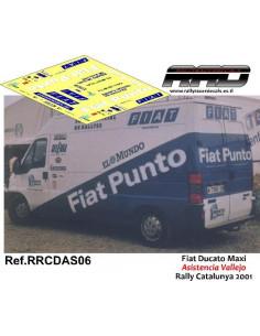 Fiat Ducato Maxi Asistencia Vallejo Rally Catalunya 2001