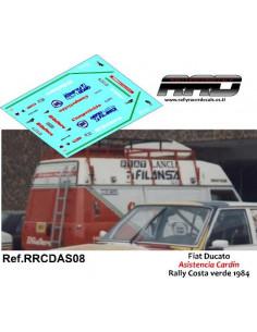 Fiat Ducato Asistencia Cardín Rally Costa Verde 1984