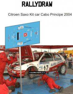 Citroen Saxo kit car Cabo Principe 2004