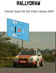 Citroen Saxo kit car Cabo llanes 2004