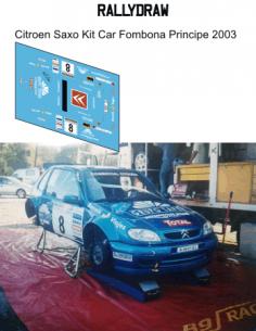 Citroen Saxo Kit car Fombona Principe 2003