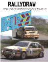 Opel Kadett GSI Moratal Corte Ingles 1991