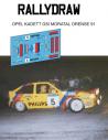Opel Kadett GSI Moratal Ourense 1991