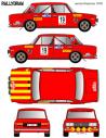 Seat 1430 Servia Rally Firestone 1976