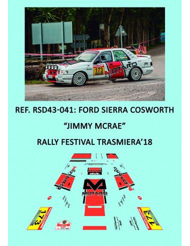 Ford Sierra Cosworth - Jimmy McRae - Rally Festival Trasmiera 2018