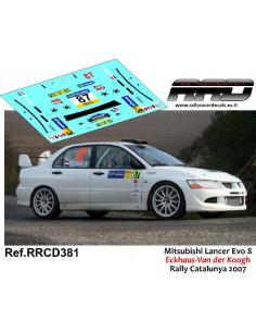 Mitsubishi Lancer Evo 8 Eckhaus-Van Der Koogh Rally Catalunya 2007