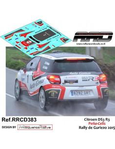 Citroen DS3 R3 Peña-Celis Rally de Guriezo 2015