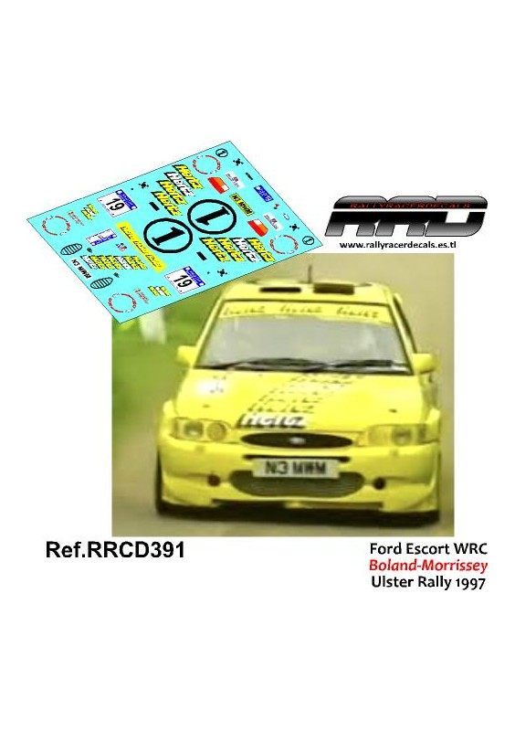 Ford Escort WRC Boland-Morrissey Ulster Rally 1997