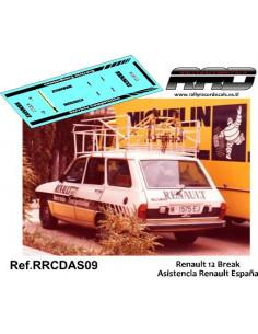 Renault 12 Asistencia Renault Fasa España
