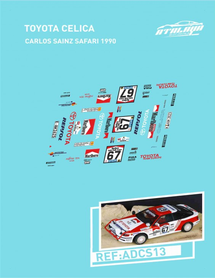 Toyota Celica Sainz Safari 1990