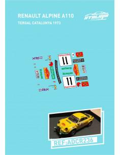 Renault Alpine A110 Nicolas Tourde Corse 1973