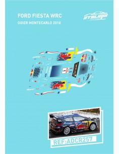 FORD FIESTA WRC OGIER MONTECARLO 2018